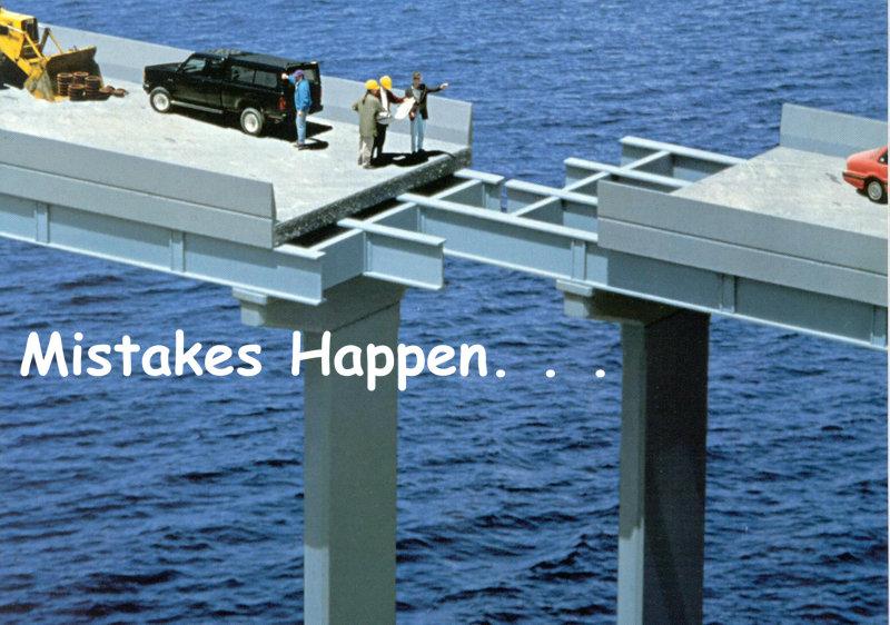 Mistake-bridge